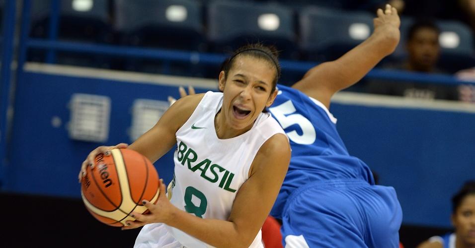 Brasil enfrenta a República Dominicana pelo basquete feminino