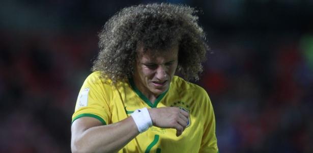 David Luiz não veste a camisa da seleção brasileira desde o ano passado