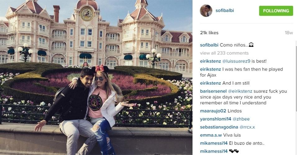 Sofia e Suárez conseguem fugir nas horas vagas para aproveitar