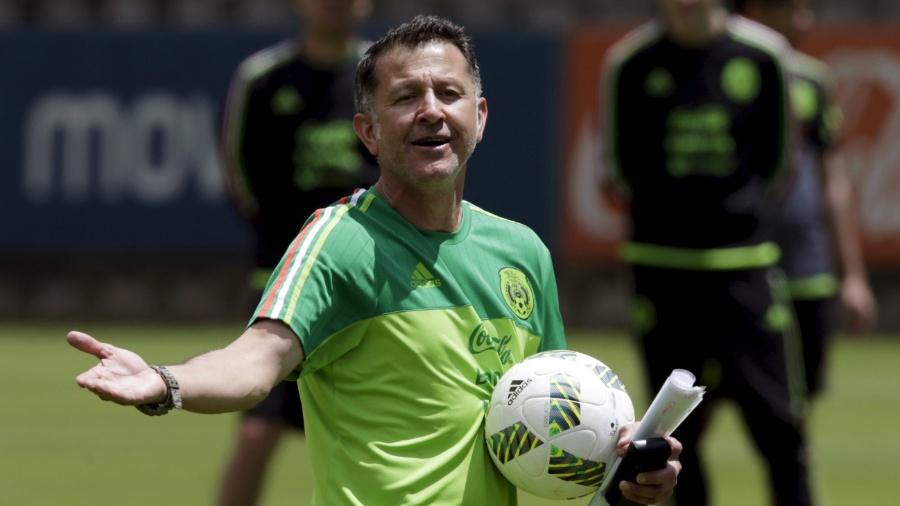 Técnico Osorio, do México - REUTERS/Henry Romero