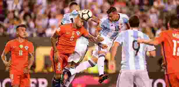 Técnico da seleção brasileira elogiou atuação das duas equipes na final - AFP PHOTO / ALFREDO ESTRELLA