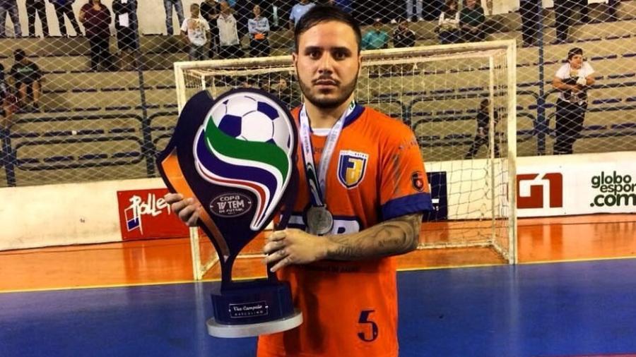 Murilo Lima defendia Associação Atlética FIB, de Bauru, e morreu em acidente no Guarujá no último domingo - Reprodução Facebook