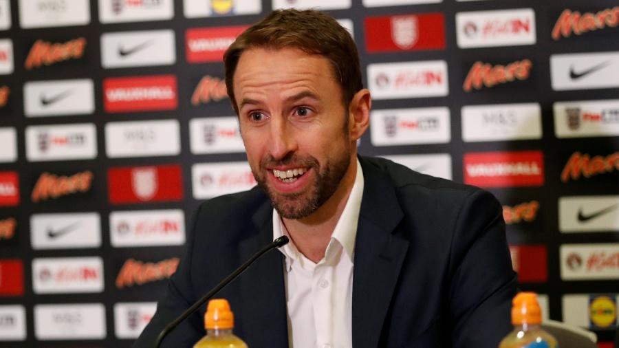 O técnico Gareth Southgate divulgou a lista de convocados para a seleção da Inglaterra - Andrew Boyers/Reuters