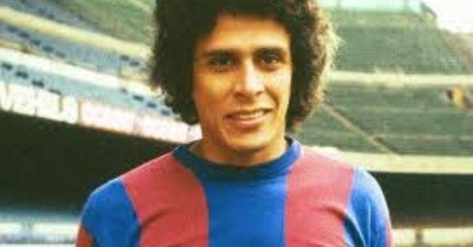 Roberto Dinamite foi jogador do Barcelona em 1980