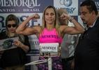 Brasileira vence por nocaute em primeira defesa de título mundial de boxe - Bruno Santos/Folhapress