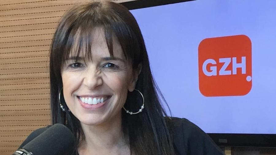 Duda Streb, jornalista da Rádio Gaúcha, foi vítima de machismo - Reprodução