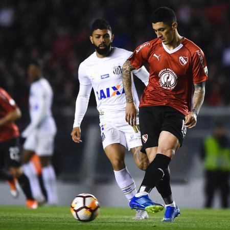 Santos e Independiente se enfrentaram em 2018 - Marcelo Endelli/Getty Images