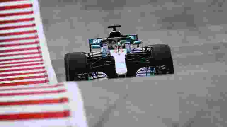 Lewis Hamilton nos treinos para o Grand Prêmio dos EUA - Clive Mason/Getty Images/AFP - Clive Mason/Getty Images/AFP