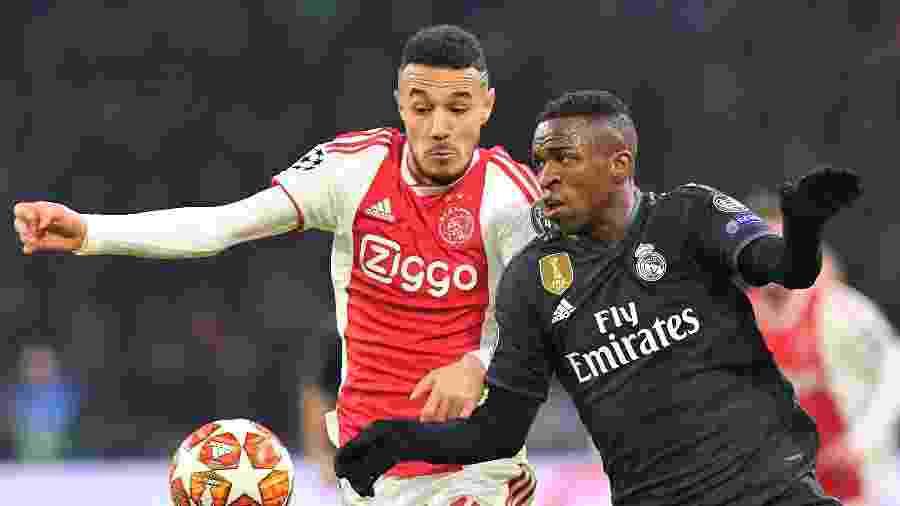 Vinícius Júnior foi decisivo para a vitória do Real Madrid - EMMANUEL DUNAND / AFP