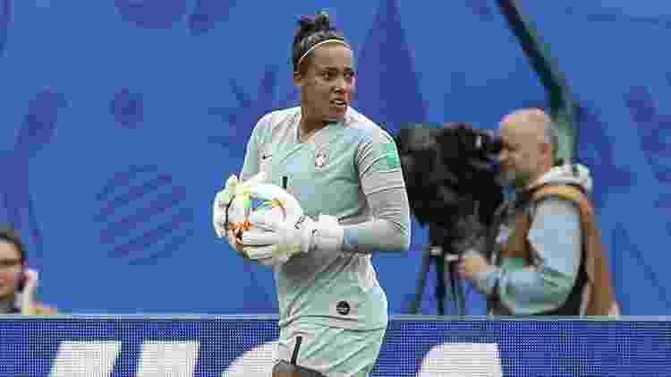 Bárbara, goleira da seleção brasileira - divulgação/CBF