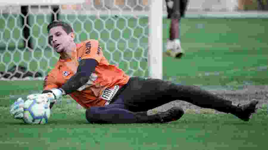 Fernando, goleiro do Atlético-MG, foi inscrito na Copa Sul-Americana - Bruno Cantini/Divulgação/Atlético-MG