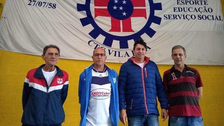 Turma do CTC da Vila Ema acompanhou o começo da carreira de Fernando Diniz e Fábio Carille - Arthur Sandes/UOL