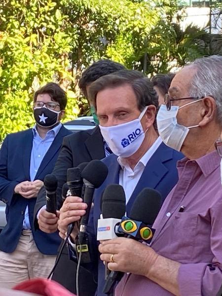 Guardiões de Crivella: Funcionários também atuavam em outros eventos da agenda do prefeito do Rio de Janeiro