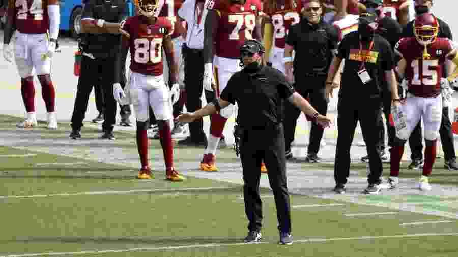 Ron Rivera, técnico do Washington Football Team, enfrenta um câncer - Rob Carr/Getty Images