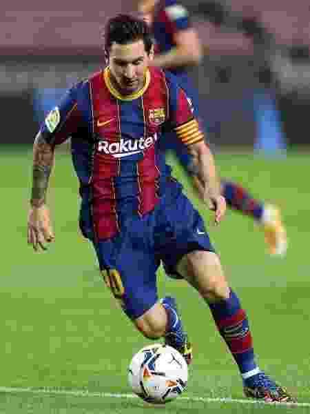 Messi é primeiro colocado em ranking da SportsPro - Reprodução/Instagram @leomessi