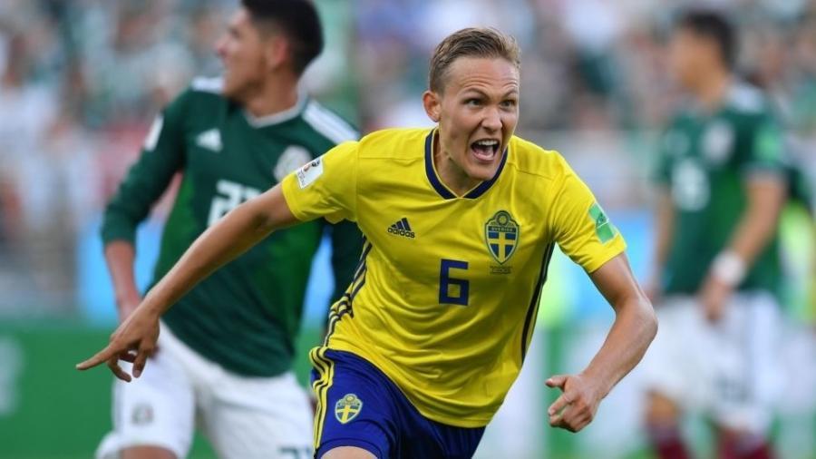 Ludwig Augustinsson é lateral do Werder Bremen e da Suécia - Divulgação