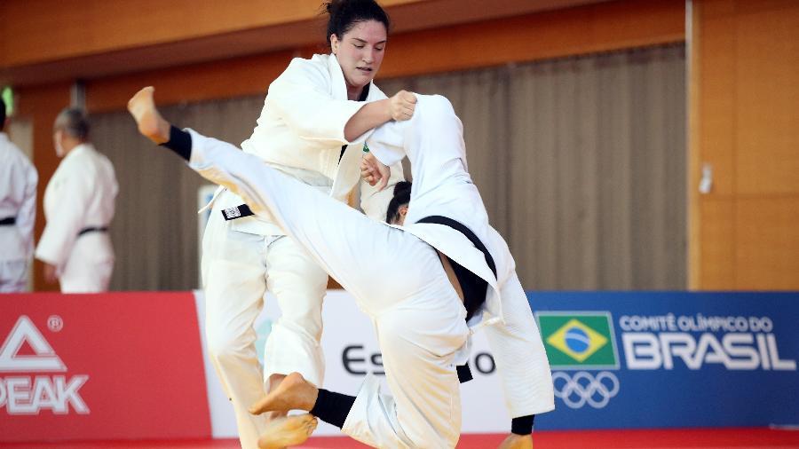Mayra Aguiar disputa sua quarta Olimpíada na carreira e é uma das esperanças de medalha brasileira - Gaspar Nóbrega/COB