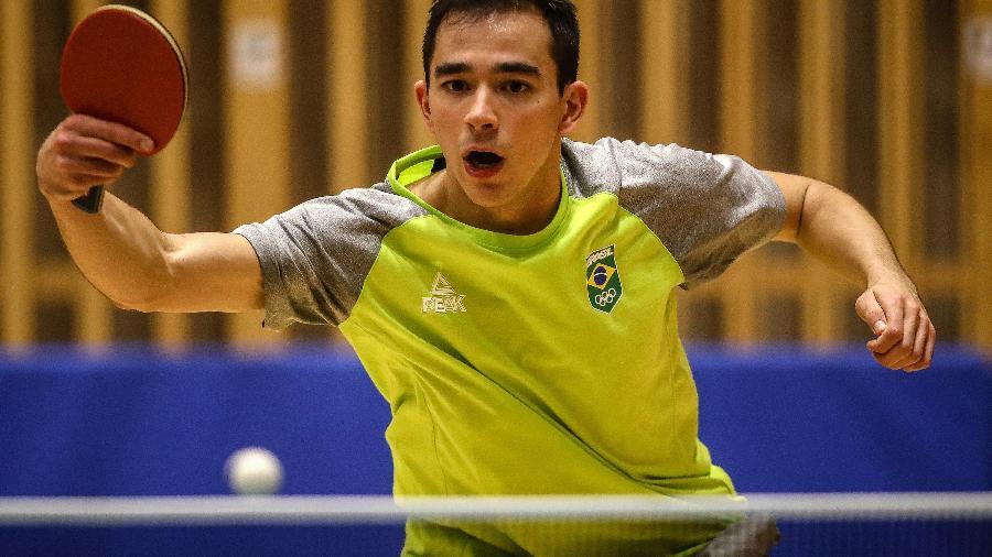 Hugo Calderano é top 10 do ranking mundial - Gaspar Nóbrega/COB
