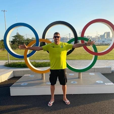 Alison Mamute, do vôlei de praia, conquistou a medalha de ouro na Rio-2016 - Reprodução/Instagram