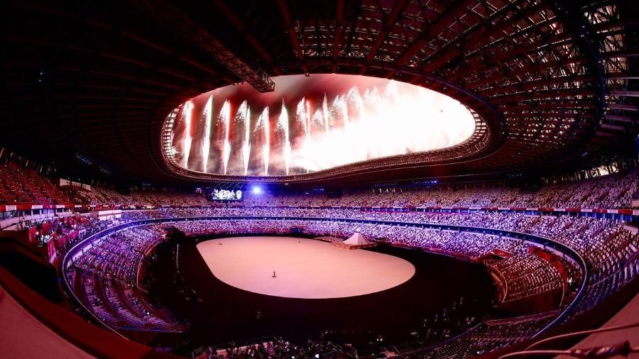 Cerimônia de abetura das Olimpíadas de Tóquio 2020 - Gaspar Nóbrega/COB