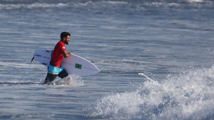 Ítalo Ferreira abriu disputa do surfe nas Olimpíadas de Tóquio - REUTERS