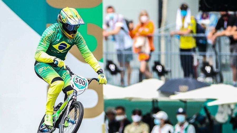 Renato Rezende fica em sétimo nas semifinais do ciclismo BMX de velocidade nas Olimpíadas de Tóquio-2020 - Gaspar Nóbrega/COB