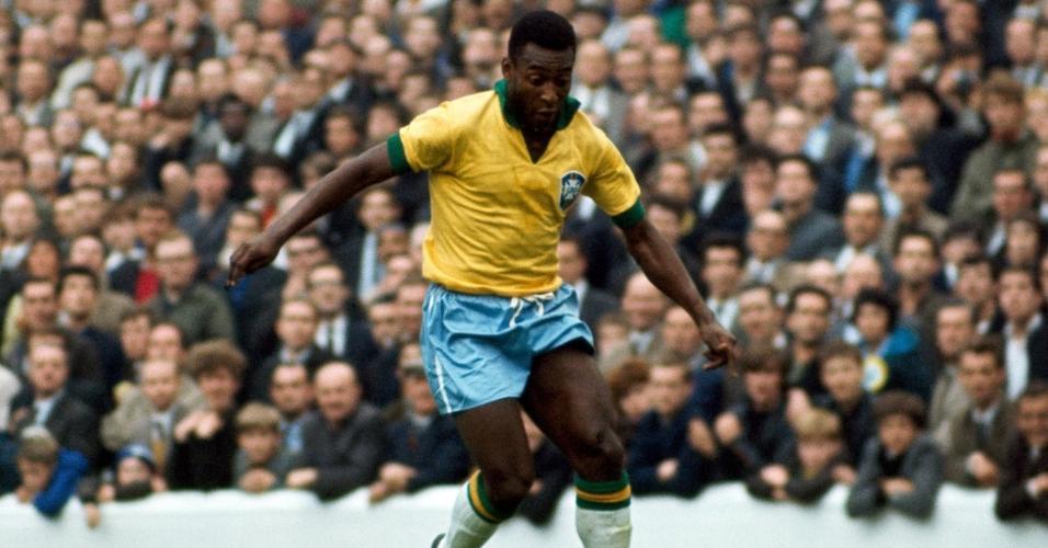 Pelé durante a Copa do Mundo de 1966 na Inglaterra