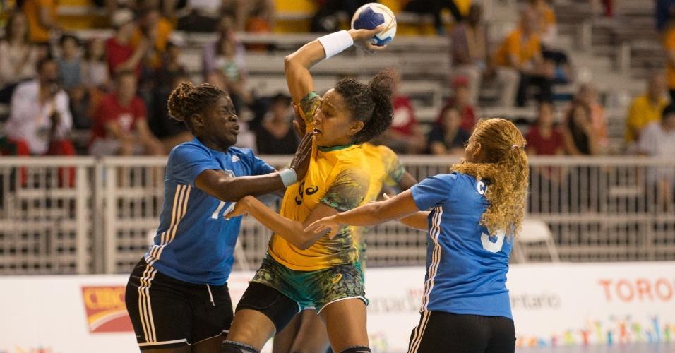 Brasil enfrenta Porto Rico na estreia do handebol feminino no Grupo A