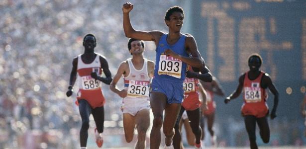 Joaquim Cruz tem uma medalha de ouro e outra de prata em Olimpíadas e vai ser guia de atleta americana no Parapan