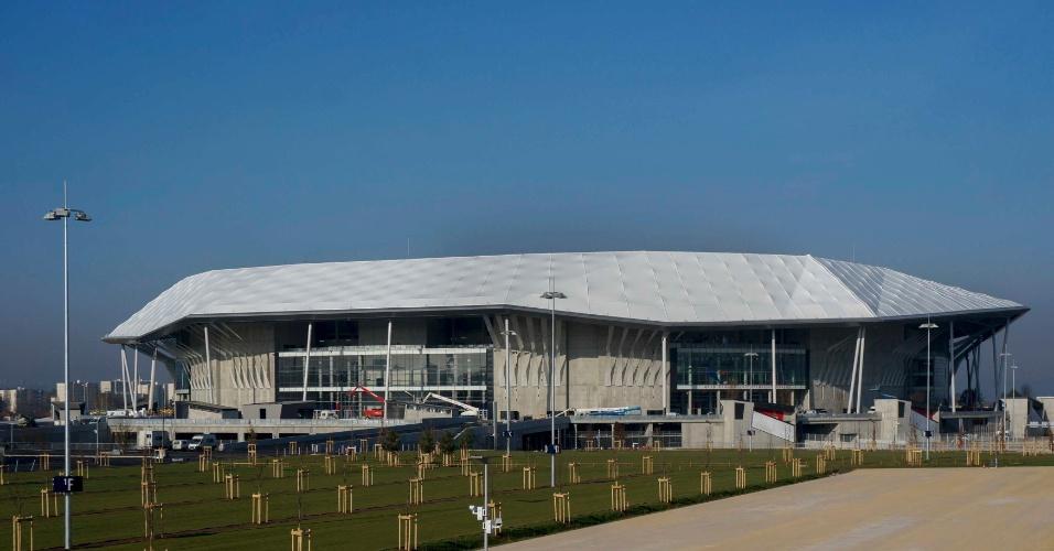 Grand Stade, o novo estádio do Lyon