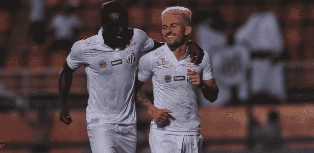 Joel e Lucas Lima - Ivan Storti/ Santos FC - Ivan Storti/ Santos FC