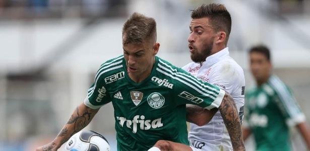 Róger Guedes chegou ao Palmeiras há menos de um mês e já jogou duas vezes