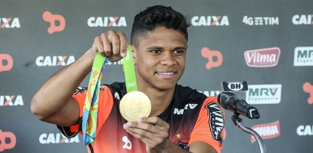 Medalhista olímpico, Douglas Santos deve defender o Hamburgo - Bruno Cantini/Atlético-MG