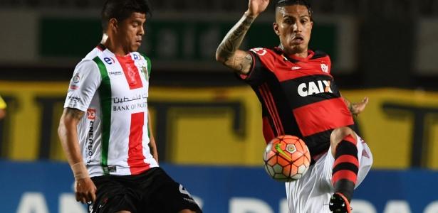 Palestino eliminou o Flamengo nas oitavas de final da Sul-Americana em 2016