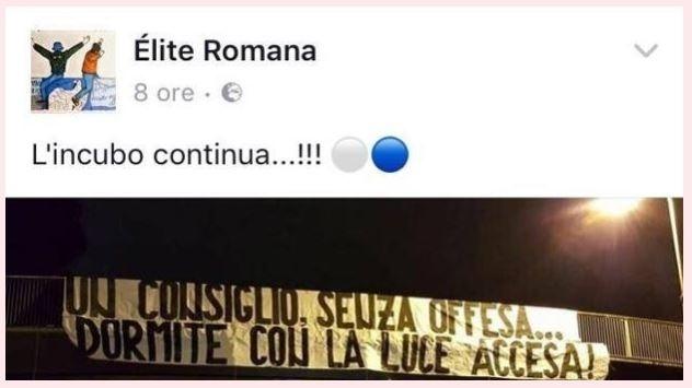 Torcida ameaça Roma com bonecos de jogadores enforcados em passarela