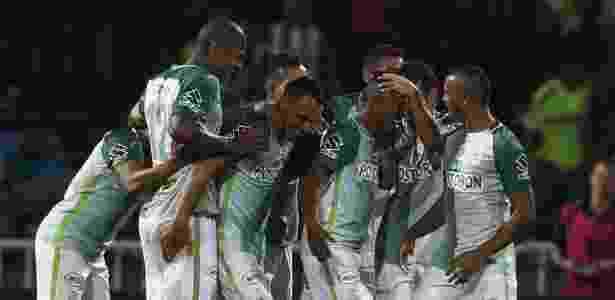 Atlético Nacional não teve trabalho contra a Chapecoense - EFE/Luis Eduardo Noriega A.