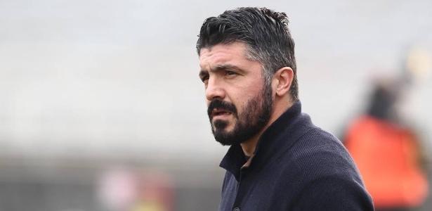 Gattuso, treinador do Pisa