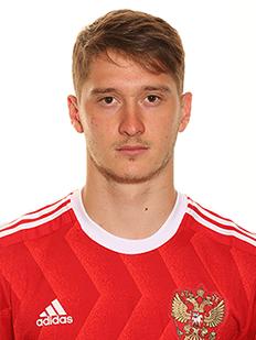 Alexey Miranchuk, meia da Rússia