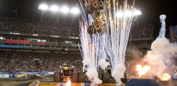 Evento de caminhões será realizado no campo da Arena Corinthians