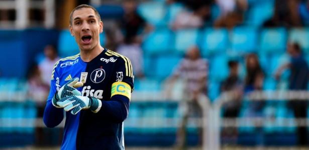 O goleiro chegará aos 88 jogos com a camisa alviverde no Campeonato Brasileiro