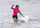 Brasileira Silvana Lima conquista etapa na Califórnia do Mundial de Surfe - WSL / SEAN ROWLAND