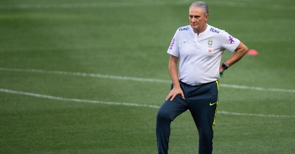 Seleção brasileira | Tite comanda treino com reservas e ainda não revela mudanças
