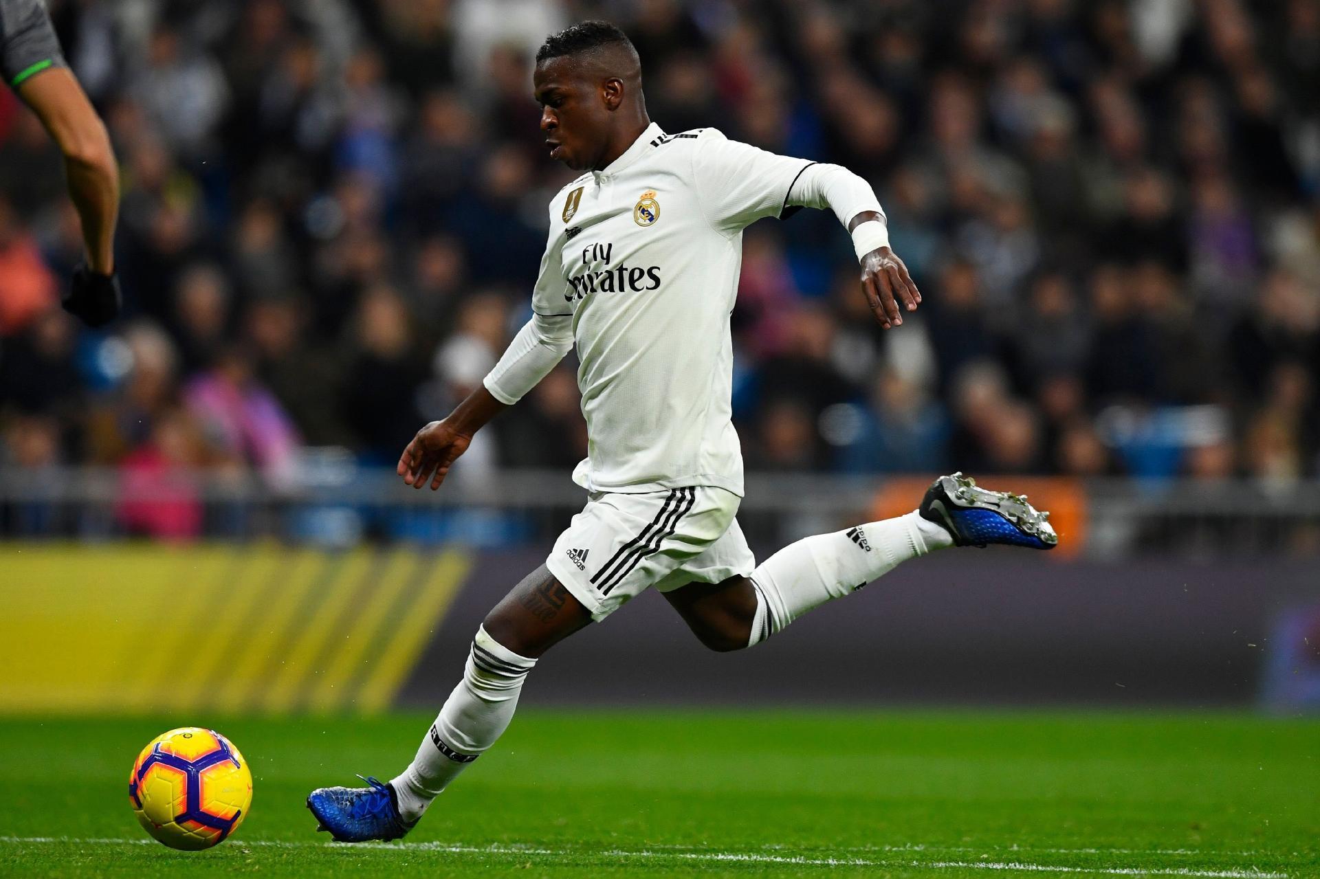 Vinícius Júnior foi  única luz  do Real Madrid em derrota bf23d083ed6ff