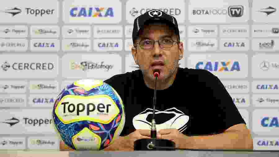 Marcio Padilha deixou cargo de vice de comunicação após polêmica com torcida do Botafogo - Vitor Silva/SSPress/Botafogo