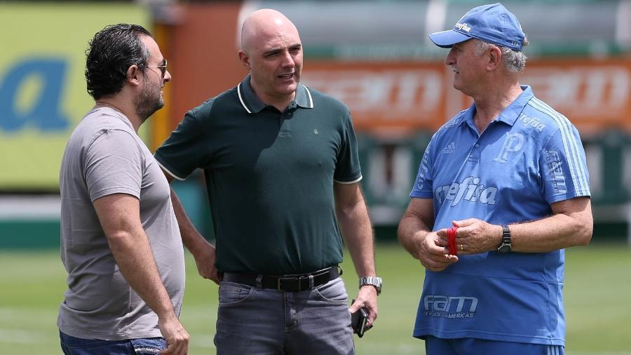 Diretor reclamou de pressão que considera exagerada por mostrar bom futebol - Cesar Greco/Ag. Palmeiras/Divulgação
