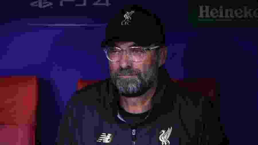 Jurgen Klopp, técnico do Liverpool durante final da Liga dos Campeões - Paul Ellis/AFP