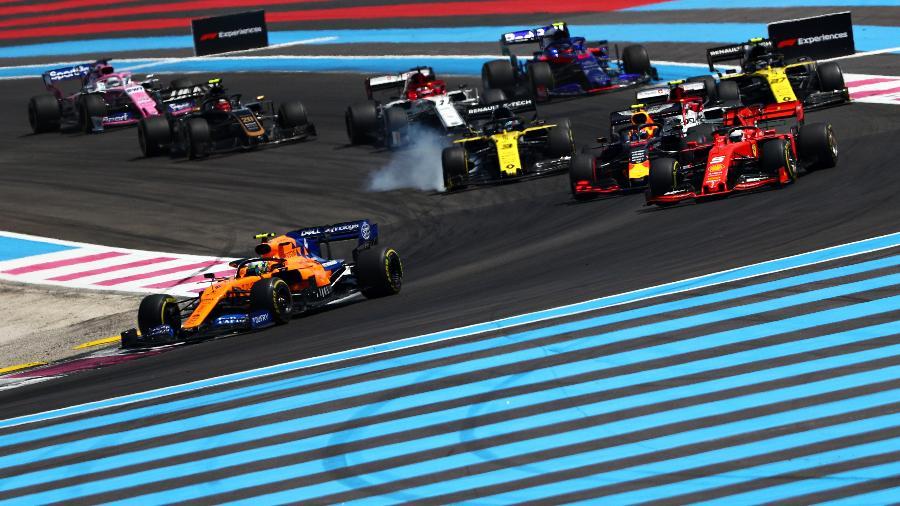 GP da França, que foi cancelado em 2020, mudou de data - Dan Istitene/Getty Images