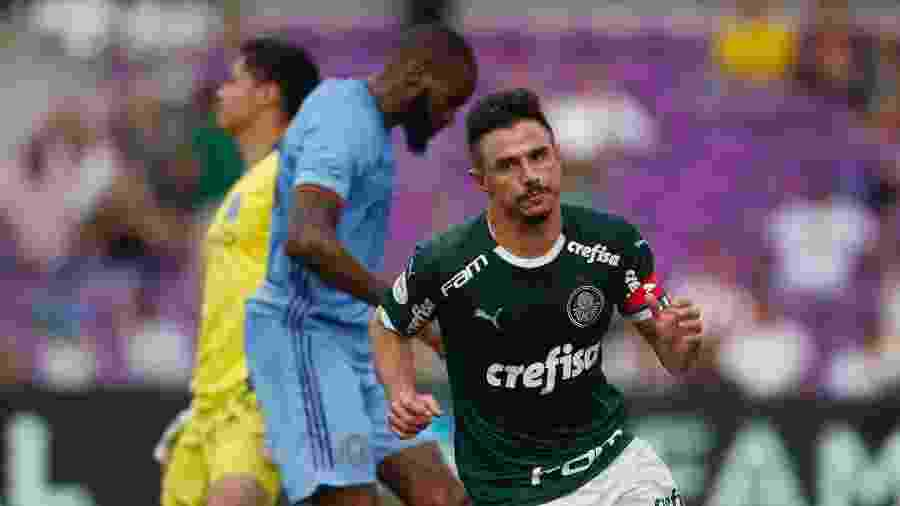 Willian comemora segundo gol do Palmeiras contra o New York City - Rafael Ribeiro/Florida Cup