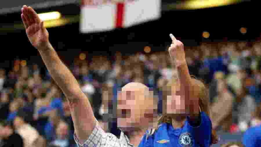 Torcedores do Chelsea são identificados com a extrema-direita na Inglaterra - Reprodução