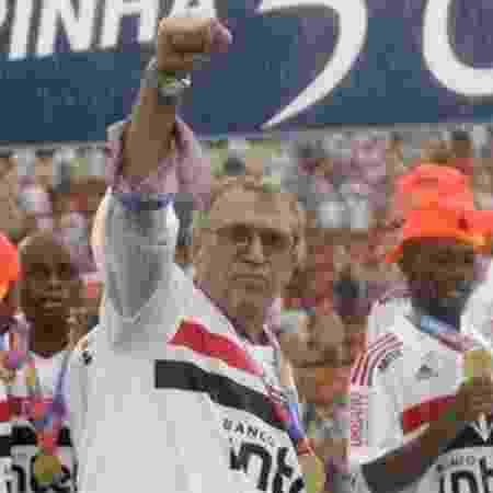 José Roberto Canassa, responsável pelo CT do São Paulo em Cotia - Reprodução